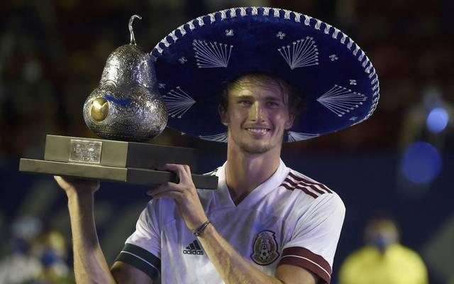Alexander Zverev triumphierte beim ATP-Turnier in Acapulco