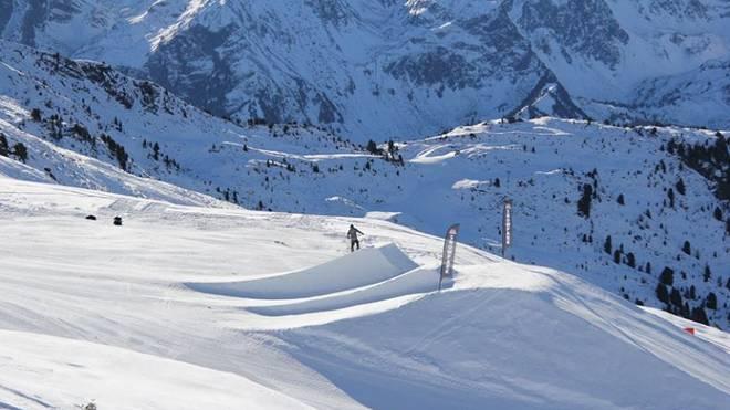 Neuer Snowpark am Hochzeiger (Pitztal) – Setup-Überblick