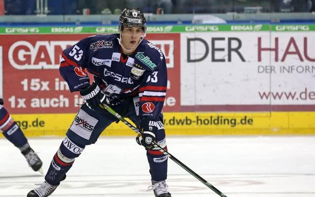Alex Trivellato spielte von 2013 bis 2015 für die Eisbären Berlin in der DEL