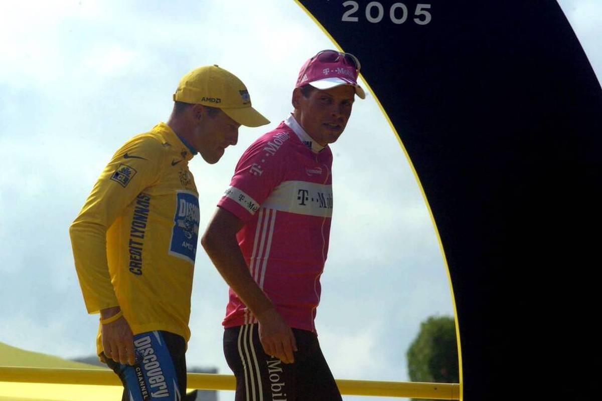 Einst härteste Widersacher, inzwischen versöhnt: Jan Ullrich gratuliert Lance Armstrong zum 50. Geburtstag mit sehr persönlichen Worten.