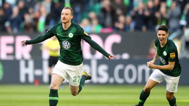 Maximilian Arnold brachte den VfL Wolfsburg gegen Mainz auf die Siegerstraße