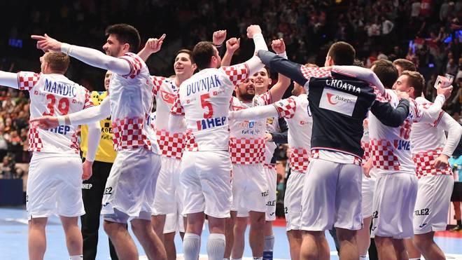 Kroatien steht nach dem Sieg im Halbfinale