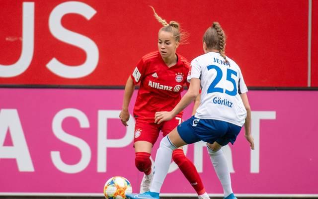 Giulia Gwinn führt Bayerns Frauen zum Sieg