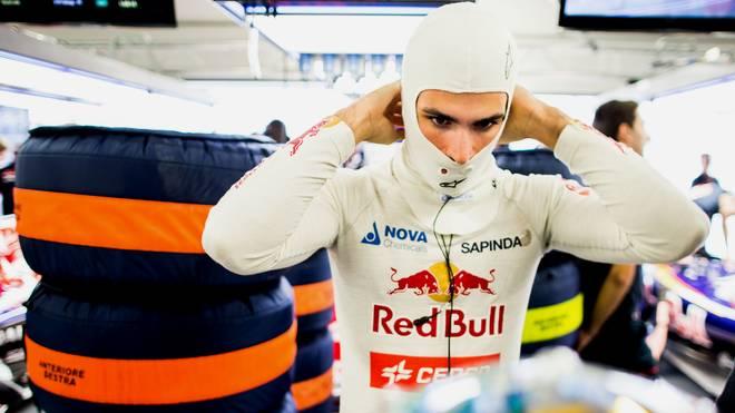 Carlos Sainz hatte im Training einen schweren Unfall