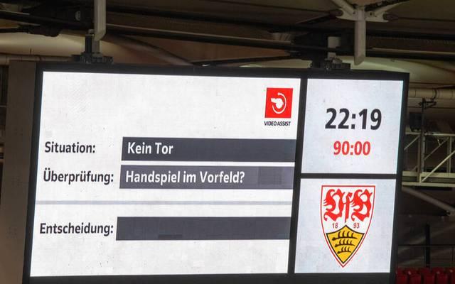 Nach knapp vier Minuten fiel die Entscheidung, dass der Stuttgarter Ausgleichstreffen gegen Union doch zählt