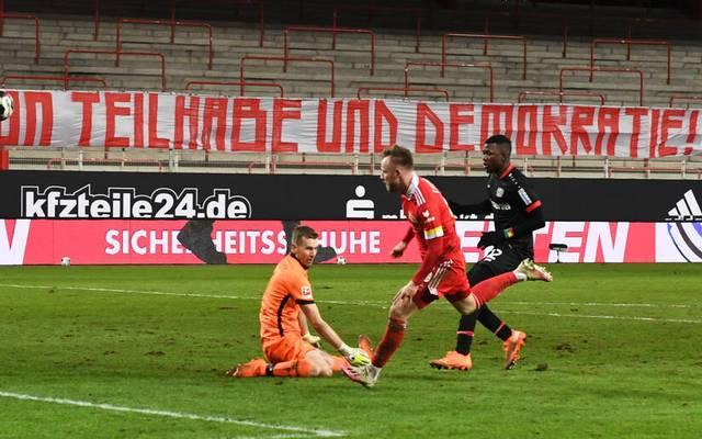 Cedric Teuchert erzielte den späten Siegtreffer für Union Berlin