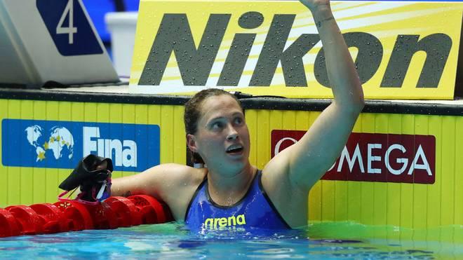 Sarah Köhler ist eine von fünf deutschen Teilnehmern an der neuen International Swimming League