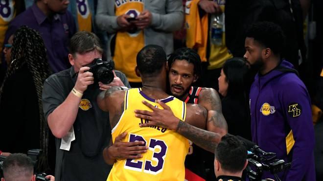 Trevor Ariza schied in den Playoffs mit den Blazers gegen LeBron James und die Lakers aus