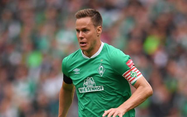 BREMEN, GERMANY - AUGUST 17: Niklas Moisander of Werder Bremen runs with the ball during the Bundesliga match between SV Werder Bremen and Fortuna Duesseldorf at Wohninvest Weserstadion on August 17, 2019 in Bremen, Germany. (Photo by Oliver Hardt/Bongarts/Getty Images)