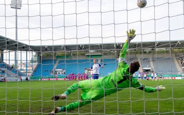 Oliver Baumann wurde im Elfmeterschießen zum Matchwinner für Hoffenheim
