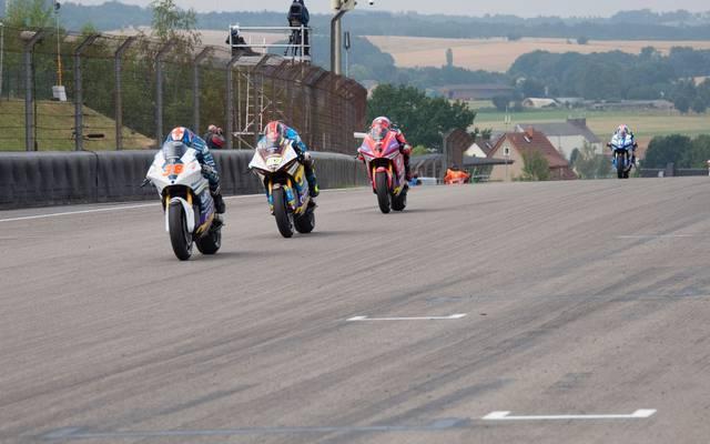 Auf solche Bilder müssen Motorradfans in diesem Jahr auf dem Sachsenring verzichten