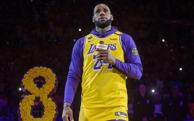 LeBron James gewann den Titel auch für Kobe Bryant