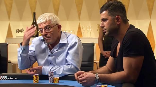 Auch Jean-Claude (l.) und Nick sind bei der neunten Folge der German High Roller dabei