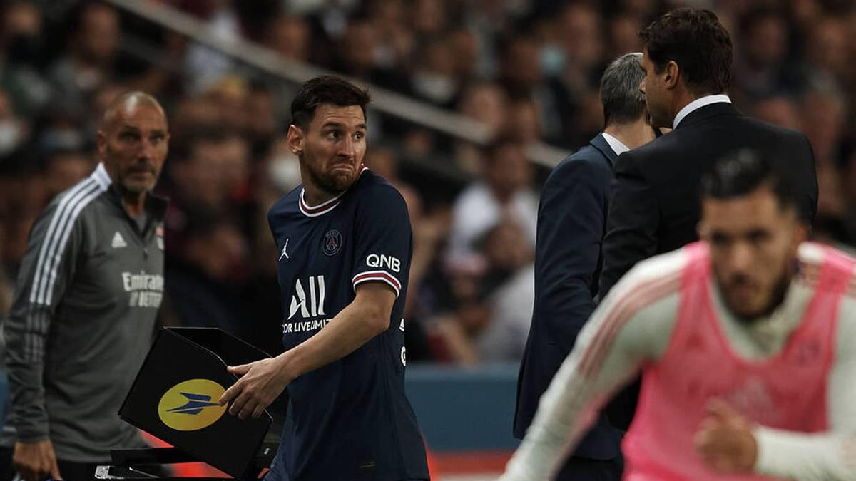 Nach Wechselwirbel: PSG im nächsten Spiel ohne Messi
