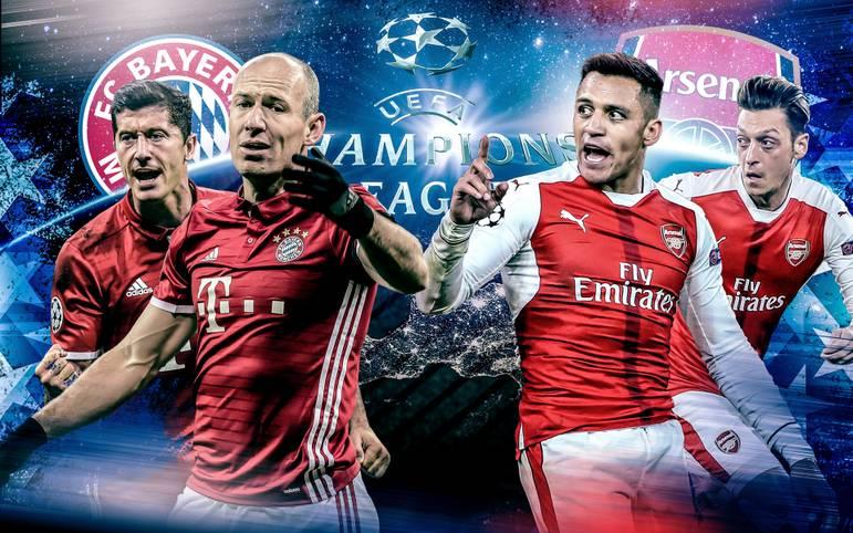 In der Allianz Arena kommt es zum Gigantenduell: Bayern München empfängt in der Königsklasse den FC Arsenal. SPORT1 vergleicht die Teams im Head-to-Head.