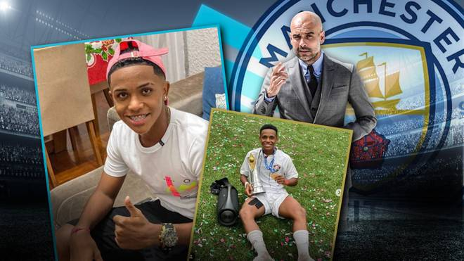 Der junge Brasilianer Kayky soll bei Manchester City auf der Liste stehen