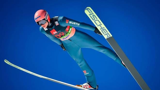 Karl Geiger ist derzeit der beste deutsche Skispringer
