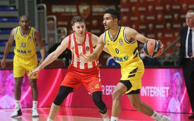 Maodo Lo und ALBA Berlin feierte gegen Roter Stern Belgrad einen Sieg