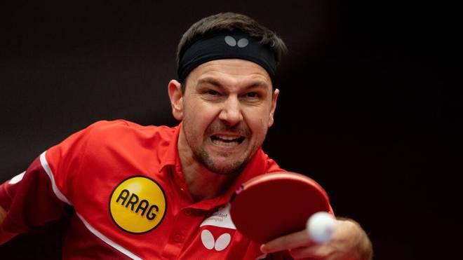 Timo Boll kämpft mit Düsseldorf um den Sieg im Final-Turnier