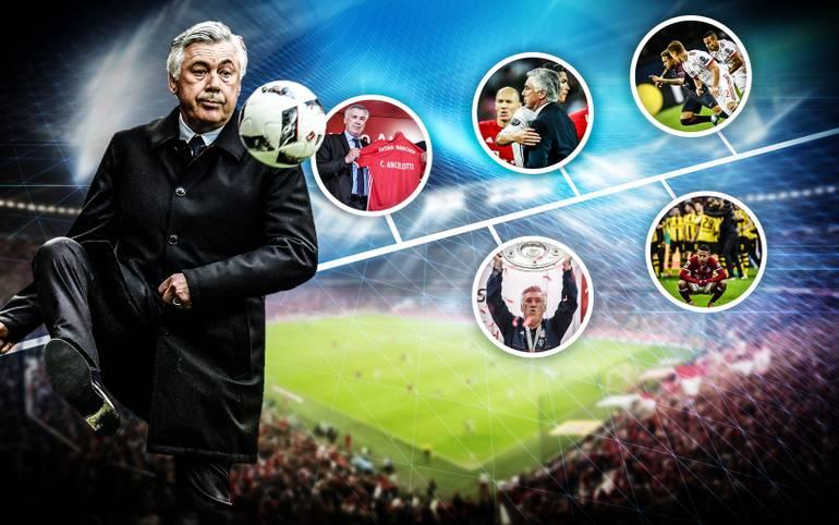 Carlo Ancelotti ist nicht länger Trainer des FC Bayern. Nach der herben 0:3-Niederlage in Paris wurde der Italiener beurlaubt. SPORT1 blickt auf die Amtszeit des Coaches zurück