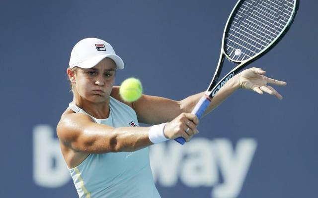 Ashleigh Barty gewinnt das WTA-Turnier in Miami