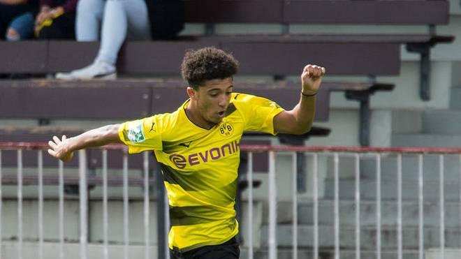 Jadon Sancho wechselte im Sommer von Manchester City zu Borussia Dortmund