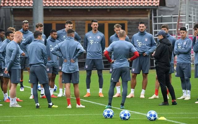 Der FC Bayern begrüßt für zehn Tage zwei Trainingsgäste aus den USA