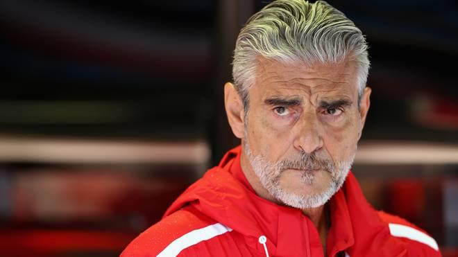 Formel 1, Ferrari: Maurizio Arrivabene dementiert einen Streit mit Mattia Binotto