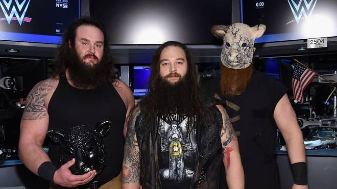Bray Wyatt (M.), Anführer der Wyatt Family, ist einer der Enkel von Blackjack Mulligan