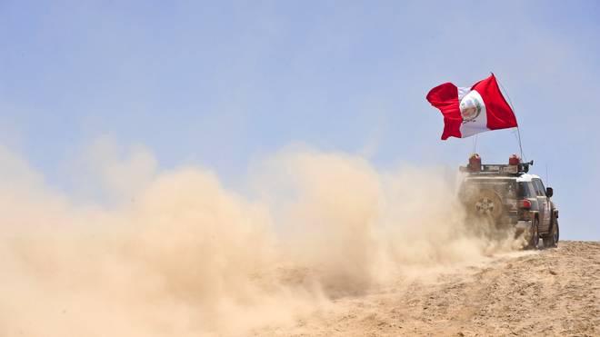 Die Rallye Dakar fand zuletzt in Peru statt