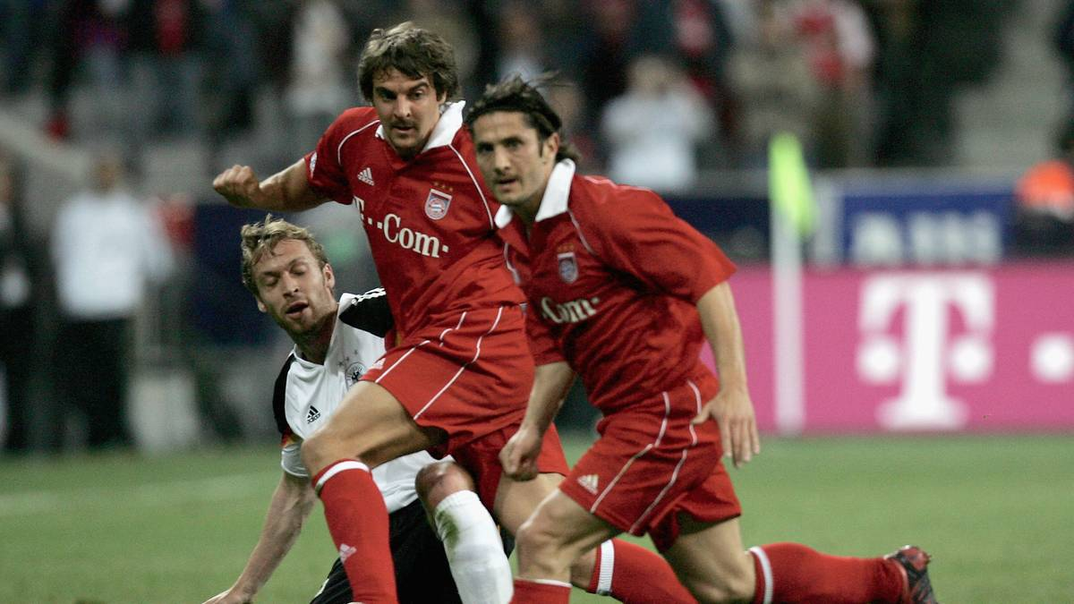 Opening game Allianz Arena Bayern Munich v DFB Team