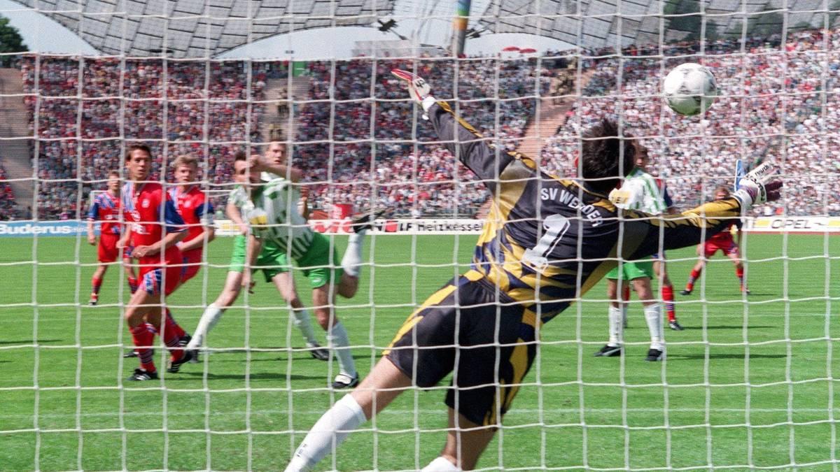 1995, BORUSSIA DORTMUND (1 Punkt) engste Meisterschaft-Entscheidungen Bundesliga