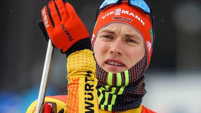 Benedikt Doll betrieb bei der Mixed-Staffel Schadensbegrenzung