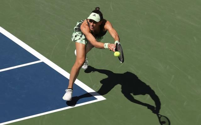 Andrea Petkovic steht nach dem Sieg gegen Petra Kvitova in der dritten Runde der US Open