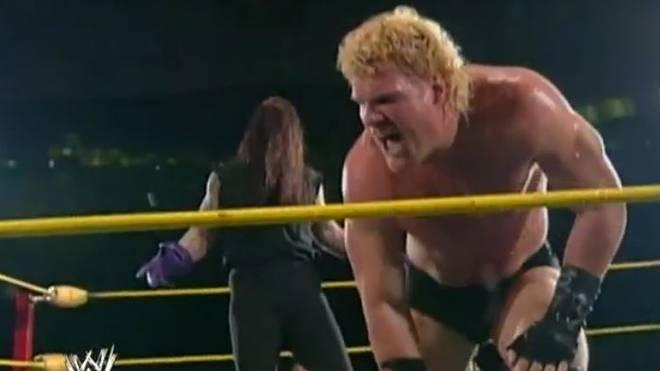 Als Unabomb traf Kane 1995 erstmals auf den Undertaker
