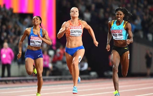 Deajah Stevens (l.) wird die Olympischen Spiele in Tokio 2021 verpassen