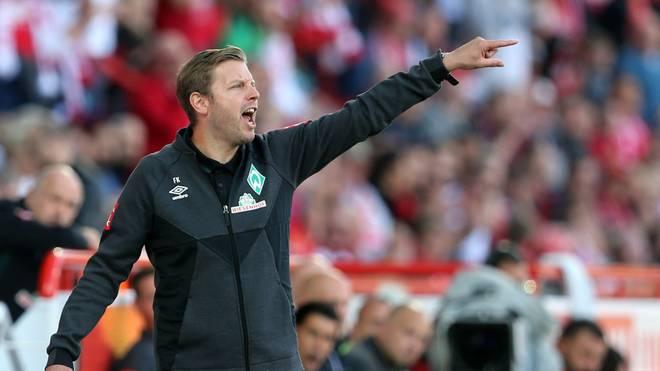 Trainer Florian Kohfeldt hat mit Werder eine Niederlage kassiert