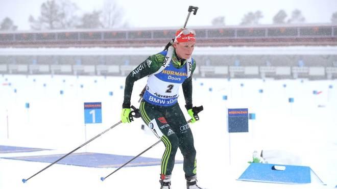 Biathlon-Vizeweltmeisterin Denise Herrmann geht am 28. Dezember dieses Jahres bei der World Team Challenge auf Schalke an den Start