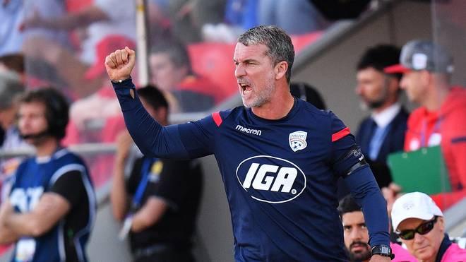 Australien: Trainer Marco Kurz verlässt Erstligist Adelaide United , Marco Kurz trainiert seit 2017 den australischen Erstligisten Adelaide United