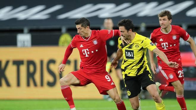 Borussia Dortmund und der FC Bayern werden auch 2021 als Favoriten in die Saison gehen