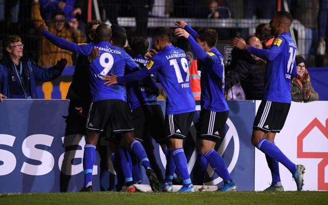 Der 1. FC Saarbrücken empfängt Fortuna Düsseldorf im DFB-Pokal