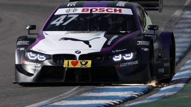 Joel Eriksson fiebert seiner ersten DTM-Saison entgegen