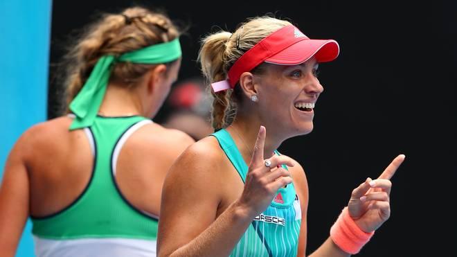 Angelique Kerber steht nach einem Sieg über Wiktoria Asarenka im Halbfinale