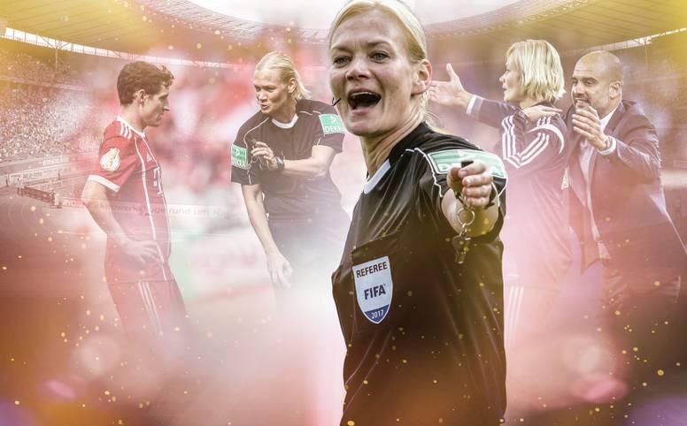 Bibiana Steinhaus feiert am Sonntag Geburtstag. Die Schiedsrichterin wird 40 Jahre alt. SPORT1 zeigt die wichtigsten Stationen ihrer Karriere
