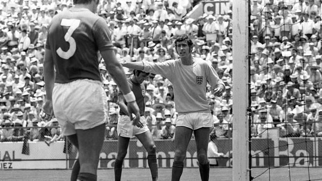 Peter Bonetti stand im WM-Viertelfinale 1970 im englischen Tor