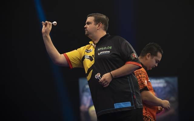 Darts-Spieler Gabriel Clemens scheiterte beim World Grand Prix am Niederländer Jeffrey de Zwaan