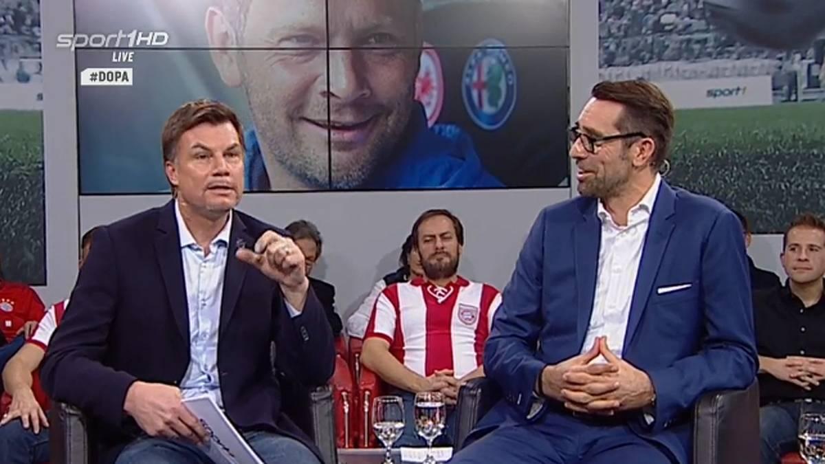 Michael Preetz (r.) ist Geschäftsführer von Hertha BSC