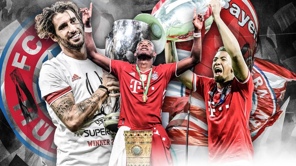 Mit David Alaba, Jérôme Boateng und Javi Martinez verlassen gleich Spieler mit neun Meistertiteln in Folge den FC Bayern. Warum vor allem die Abgänge von Alaba und Boateng der Bundesliga-Konkurrenz Hoffnung macht.