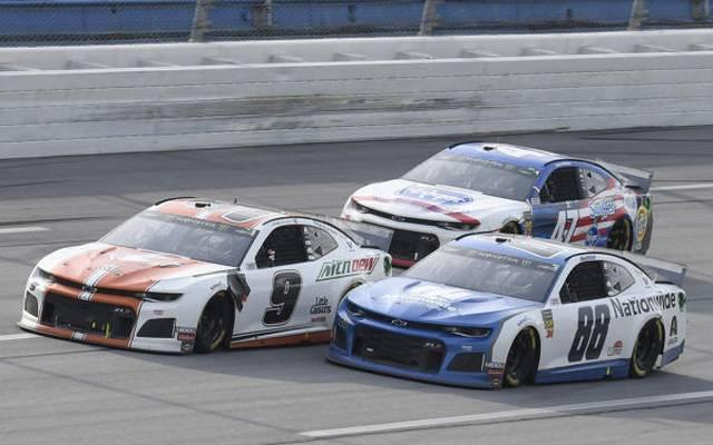 Mit Chase Elliott als Sieger hatte Chevrolet am Sonntag drei Fahrer in den Top 3