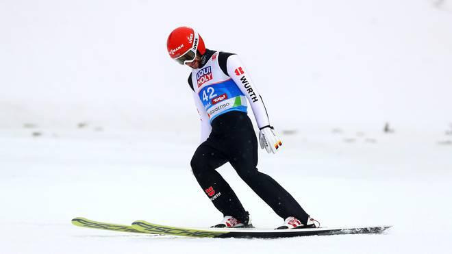 FIS Nordic World Ski Championships - Men's HS109 Beim Wettbewerb von der Normalschanze hatten Markus Eisenbichler und Co. nichts mit der Medaillenentscheidung zu tun